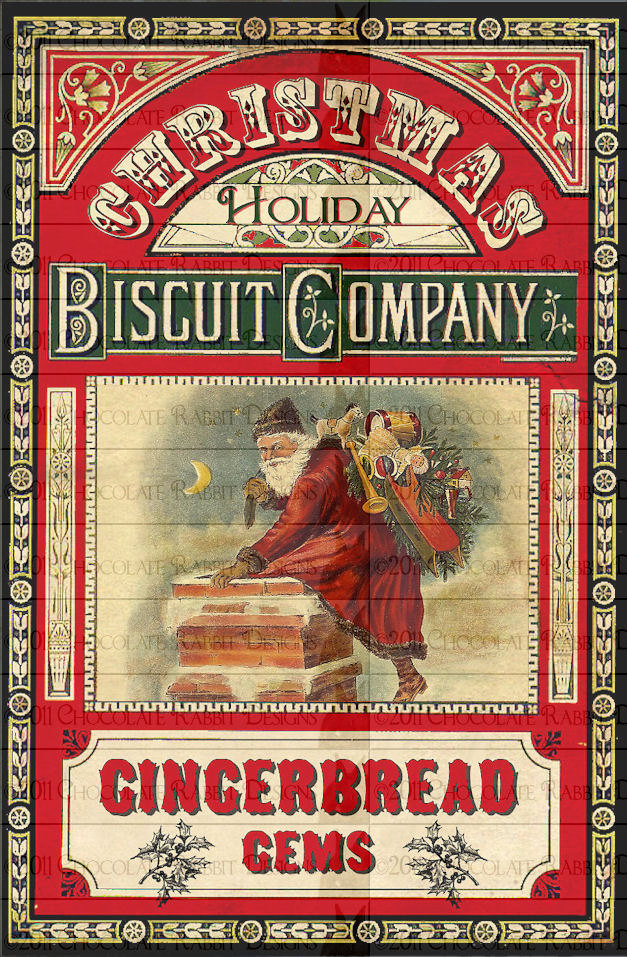 It is a graphic of Old Fashioned Vintage Christmas Labels to Print